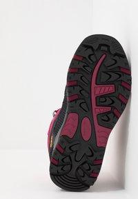 CMP - KIDS RIGEL MID SHOE WP UNISEX - Hiking shoes - bouganville/goji - 5