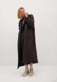Mango - MARLON - Classic coat - mittelbraun - 0