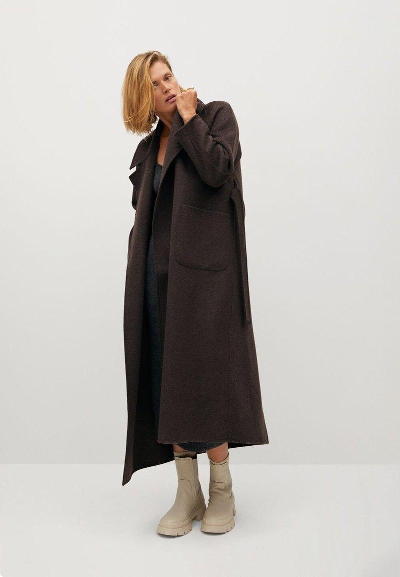 Mango - MARLON - Classic coat - mittelbraun