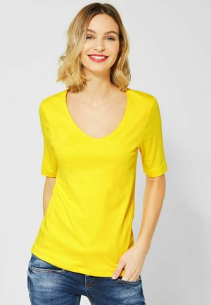 PALMIRA - Basic T-shirt - gelb