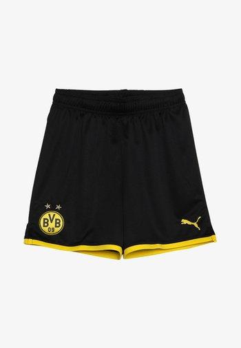 BVB BORUSSIA DORTMUND SHORTS REPLICA - Sports shorts - black/cyber yellow