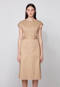 BOSS - DOMATO - Day dress - beige - 0