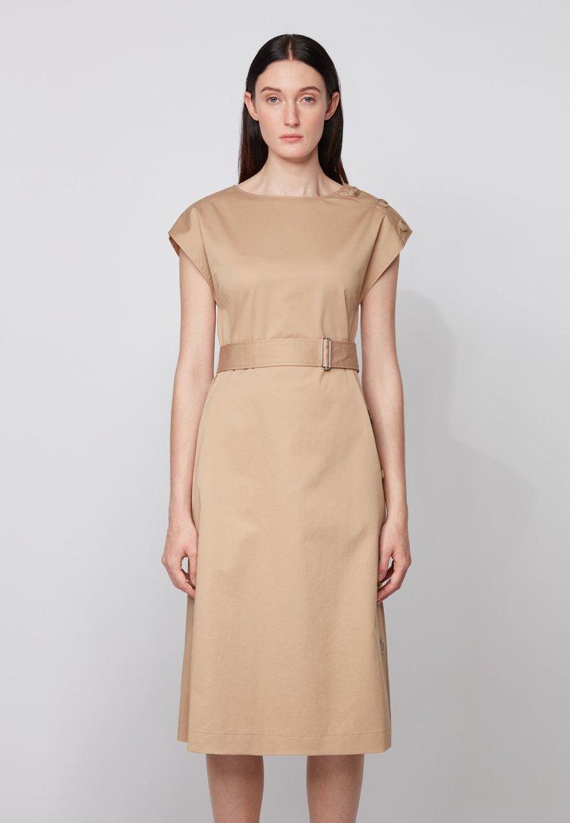 BOSS - DOMATO - Day dress - beige