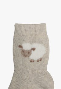 Ewers - THERMO SCHÄFCHEN 2 PACK - Ponožky - grau/latte - 3