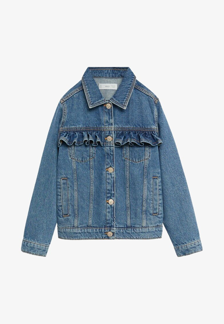 Mango - NORMA - Denim jacket - mittelblau