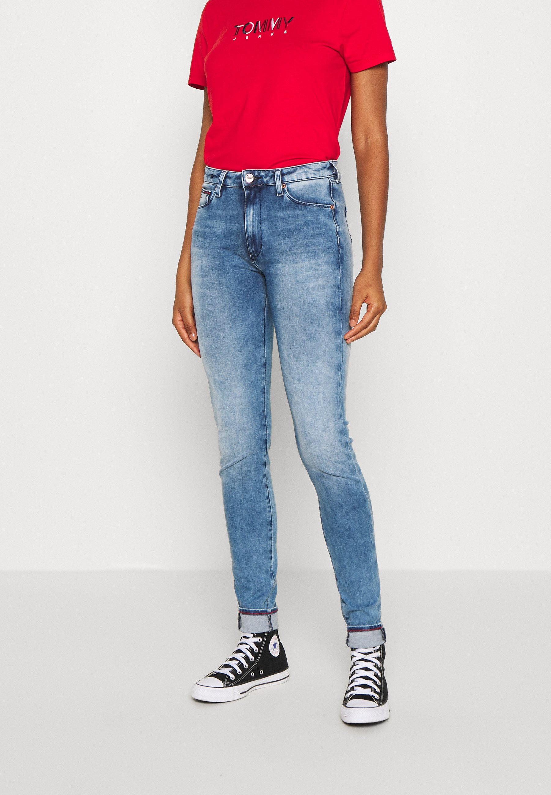 Donna SYLVIA SUPER SKINNY - Jeans Skinny Fit