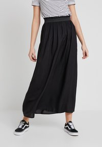 ONLY - ONLVENEDIG  - Maxi skirt - black - 0