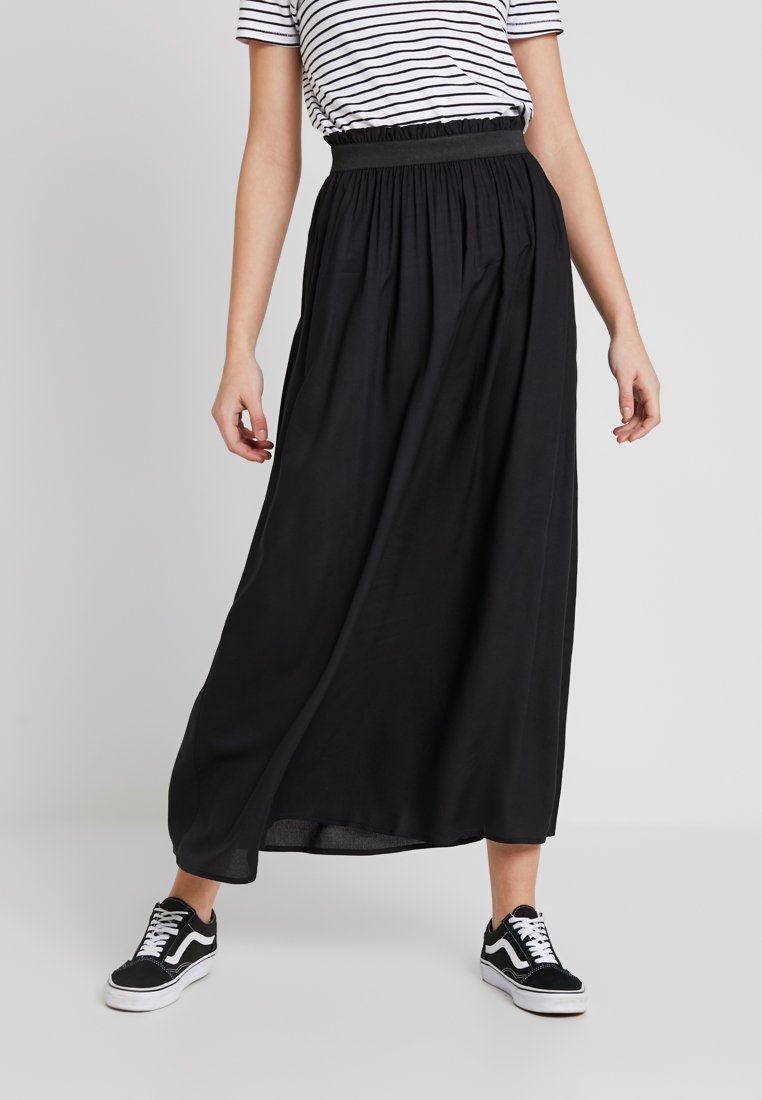 ONLY - ONLVENEDIG  - Maxi skirt - black