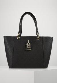 Guess - KAMRYN TOTE - Handbag - black - 0