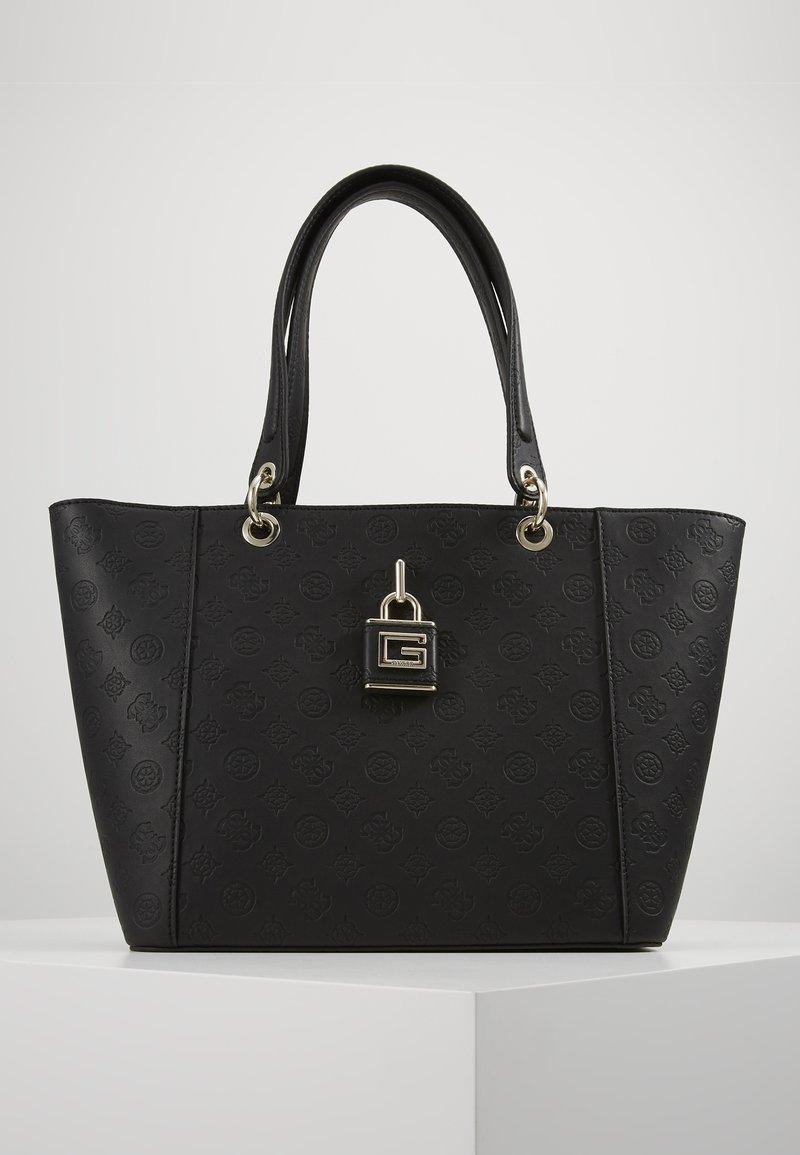 Guess - KAMRYN TOTE - Handbag - black