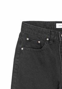 Grunt - WIDE LEG - Relaxed fit jeans - calm black - 4