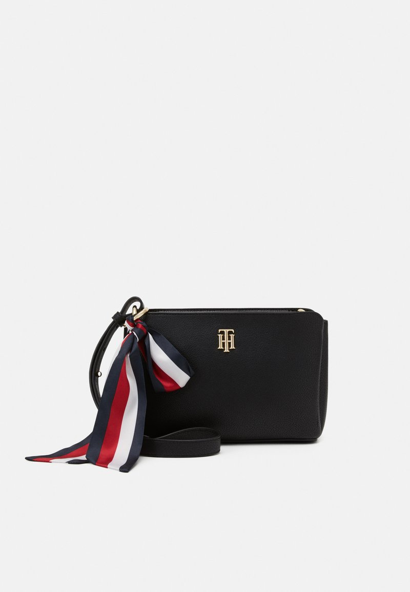 Tommy Hilfiger - CHARMING CROSSOVER - Across body bag - black