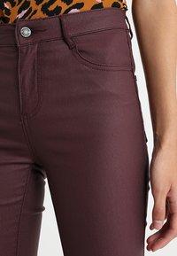 Vila - VICOMMIT  - Jeans Skinny - winetasting - 3