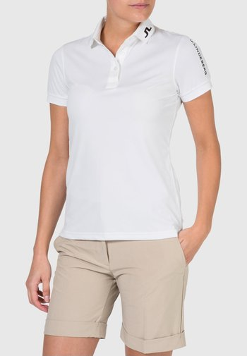 TOUR TECH - Sports shirt - white