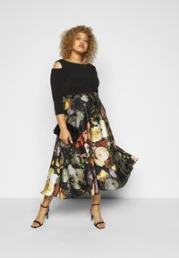 Swing Curve - Cocktail dress / Party dress - black/multi - 1
