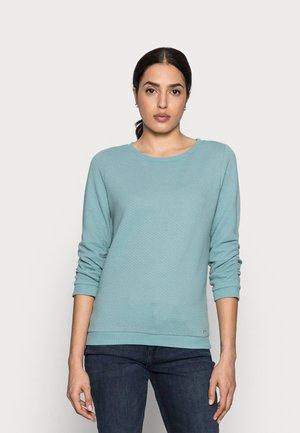 Sweatshirt - mineral stone blue