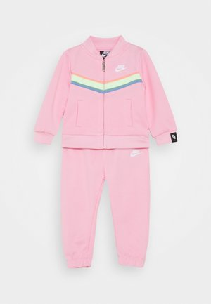 HERITAGE SET - Zip-up hoodie - pink