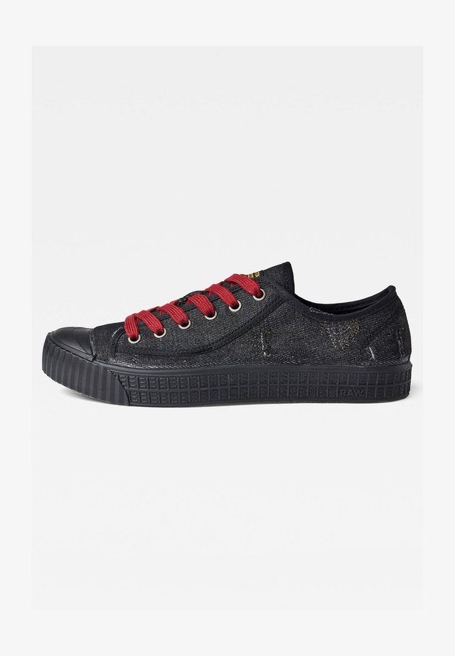 ROVULC 50 YEARS DENIM LOW - Sneakers basse - black