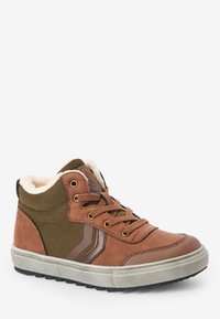 Next - Šněrovací kotníkové boty - brown - 4