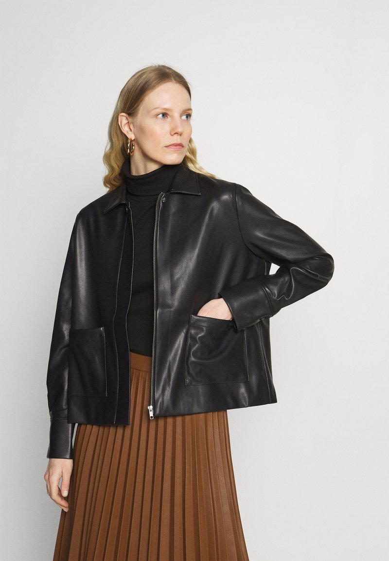 Carin Wester - INDOOR STANTON  - Faux leather jacket - black