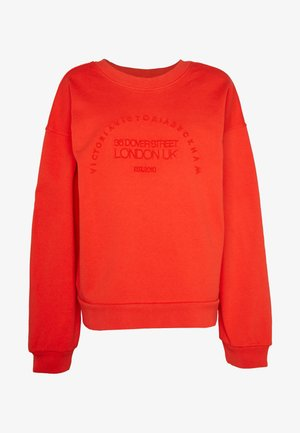 HERITAGE - Sweatshirt - flame red