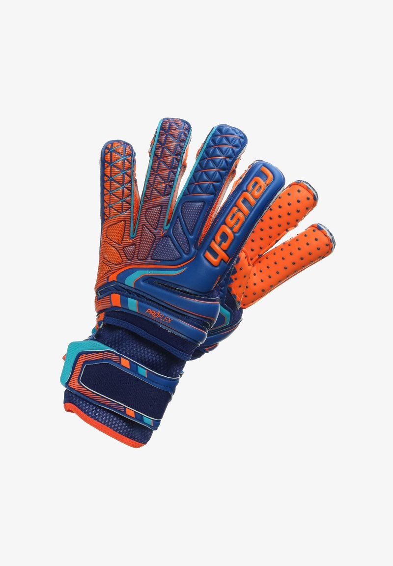 Reusch - ATTRAKT PRO G3 SPEEDBUMP EVOLUTION ORTHO-TEC  - Gants - deep blue / shocking orange