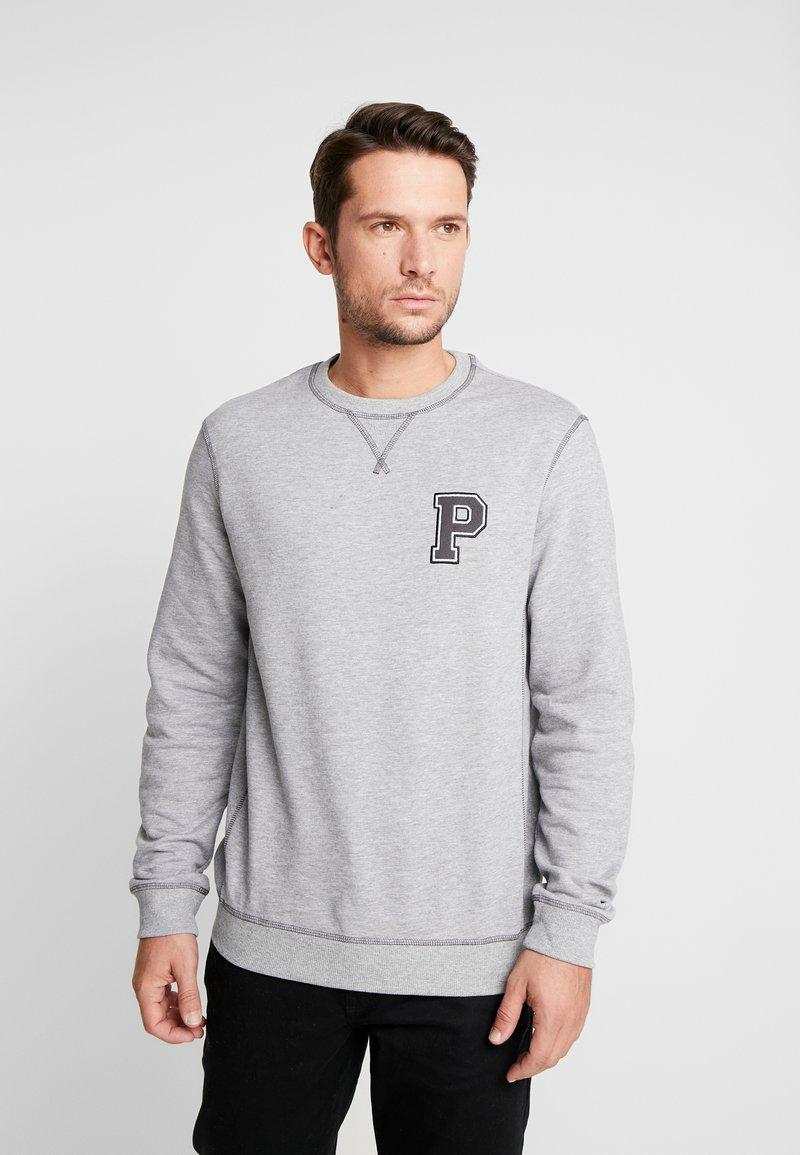 Pier One - Sweatshirt - mottled grey