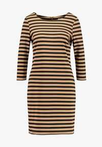 Vila - Day dress - black/dusty camel - 5