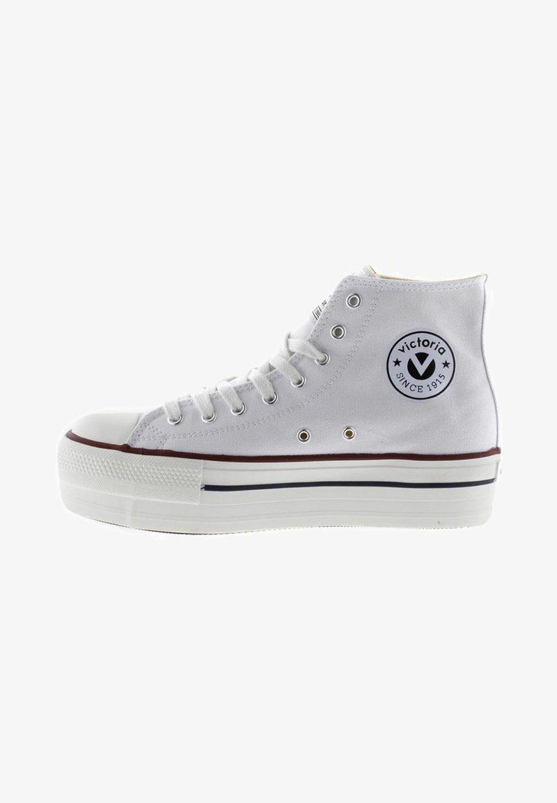 Victoria Shoes - Zapatillas altas - white