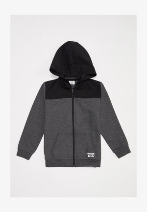 Zip-up hoodie - anthracite