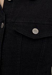 PULL&BEAR - Jeansjacke - metallic black - 5