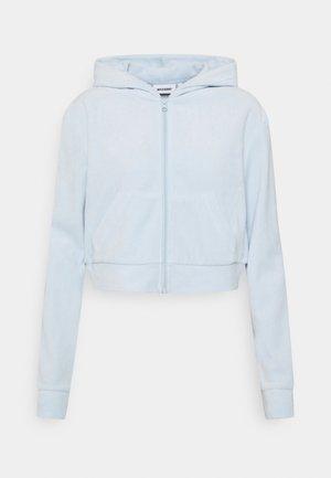 JUNO ZIP HOODIE - Zip-up hoodie - baby blue