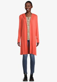 Cartoon - Cardigan - papaya orange - 1