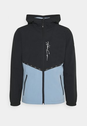 Summer jacket - black/blue