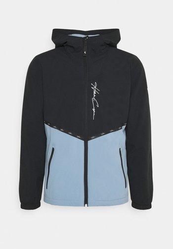 Summer jacket - black/blue