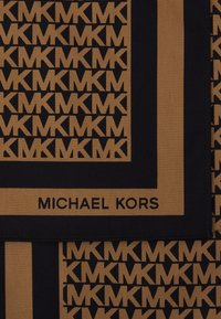 MICHAEL Michael Kors - LOGO SCARF - Foulard - black/dark camel - 3