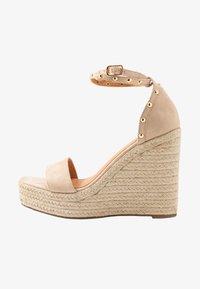 Tata Italia - Korolliset sandaalit - beige - 1