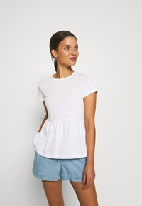 Anna Field Petite - Basic T-shirt - white - 0