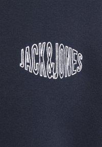 Jack & Jones - JORPRESTON ZIP HOOD - Felpa aperta - navy blazer - 6