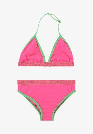 ZELVIRA SET - Bikini - neon pink
