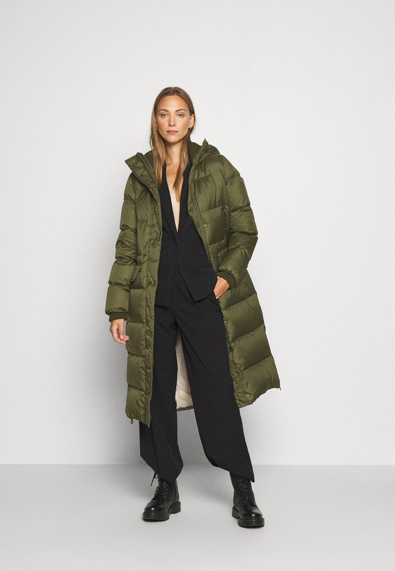 Marc O'Polo - BIG PUFFER COAT FILLED - Down coat - khaki