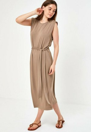Day dress - taupe