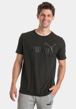 Print T-shirt - dark gray heather