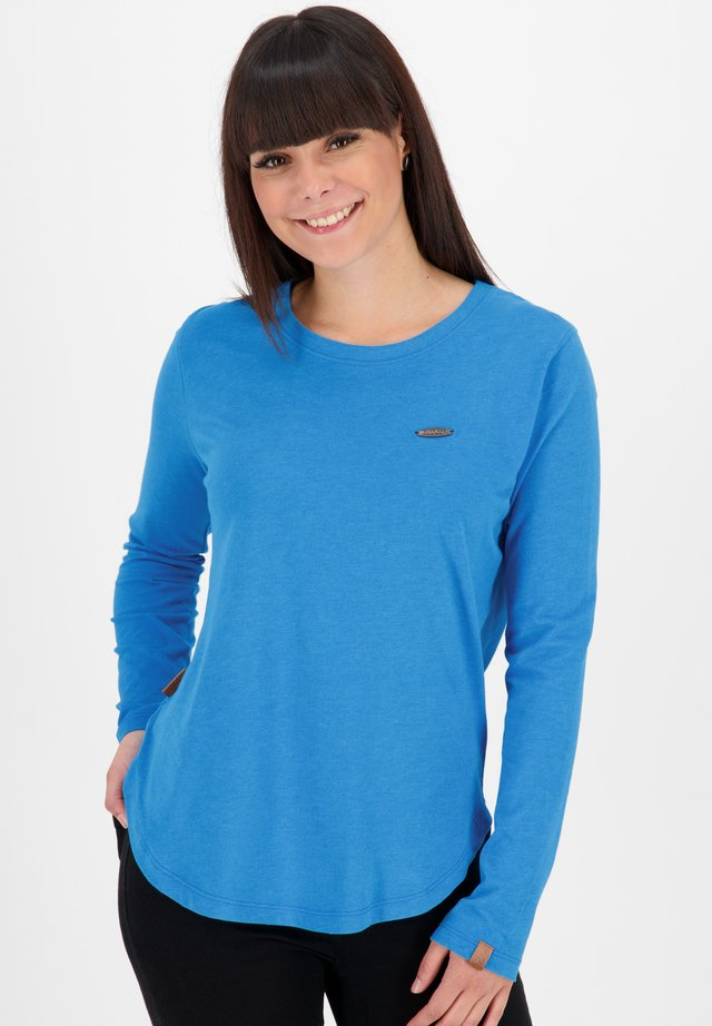 Long sleeved top - cobalt
