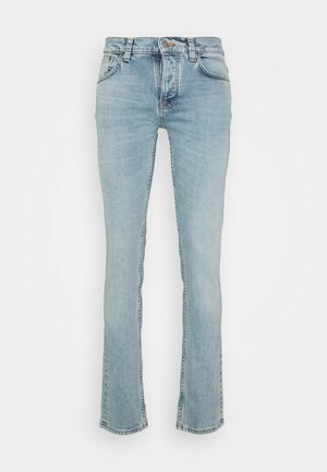 GRIM TIM - Slim fit jeans - indigo waves