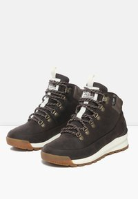 The North Face - W BACK-TO-BERKELEY MID WP - Outdoorschoenen - demitassebrn/bipartisnbrn - 2
