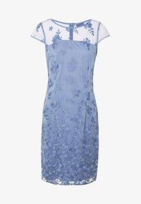 Esprit Collection - DEGRADÉ FLORAL - Cocktailkleid/festliches Kleid - blue lavender - 4