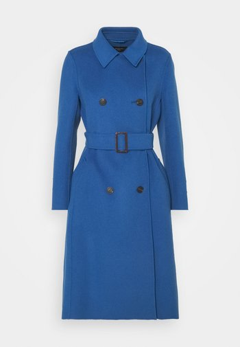 STRUZZO - Classic coat - dusty blue