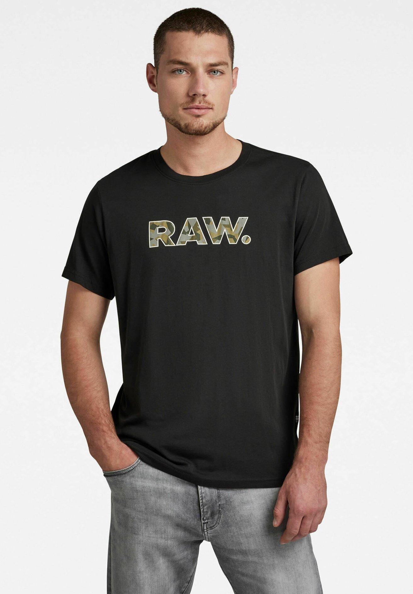 Herren VLOOKUP RAW GRAPHIC R T - T-Shirt print