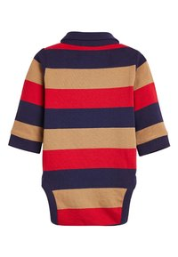 Next - MULTI STRIPED POLOBODY AND CHINO SET (0MTHS-3YRS) - Body - red - 2